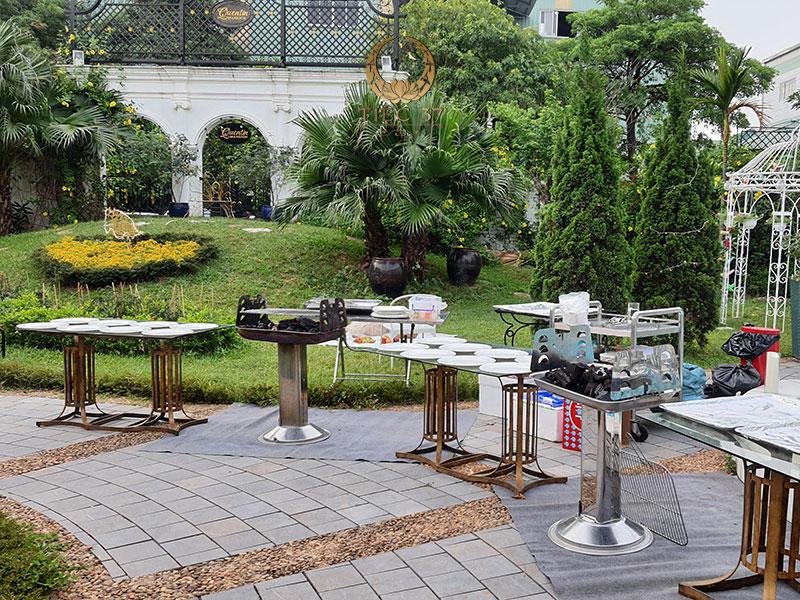 Đặt tiệc buffet tại nhà với dịch vụ tiệc lưu động uy tín tại Hà Nội - Tiệc 37