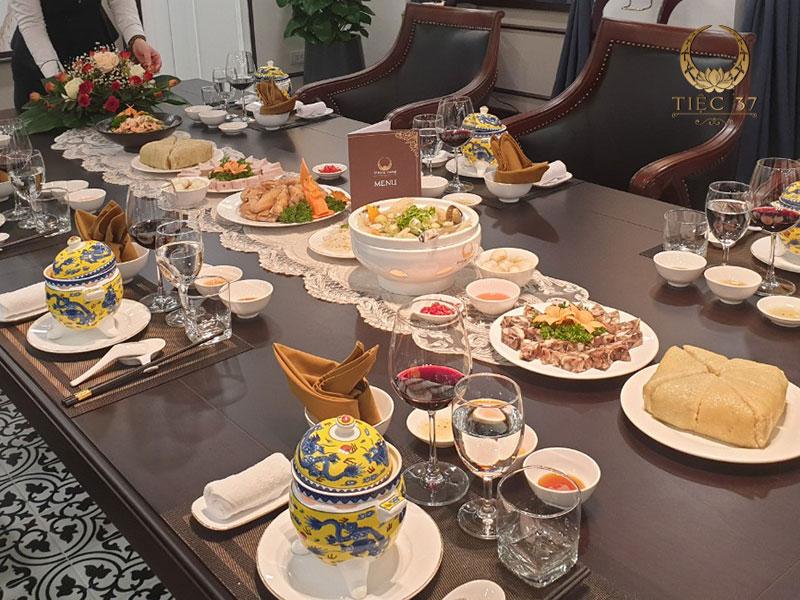 Những món ăn độc đáo trong thực đơn tiệc lưu động