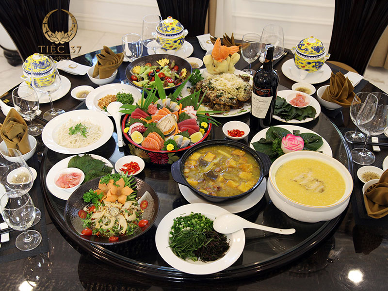 Sự tinh tế trong hương vị món ăn tạo nên bữa tiệc tại gia hoàn hảo