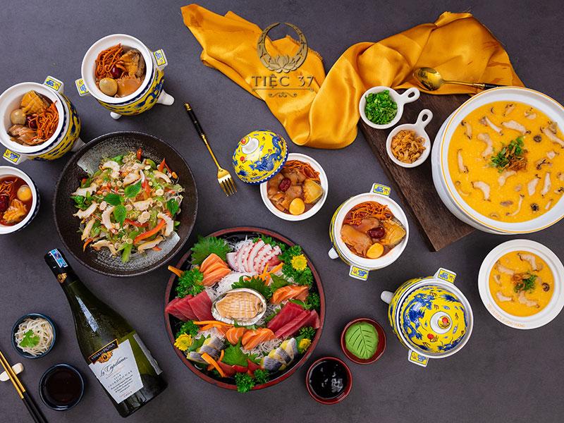 Món ngon trong thực đơn tiệc tại nhà là sự giao thoa độc đáo của nền ẩm thực thế giới