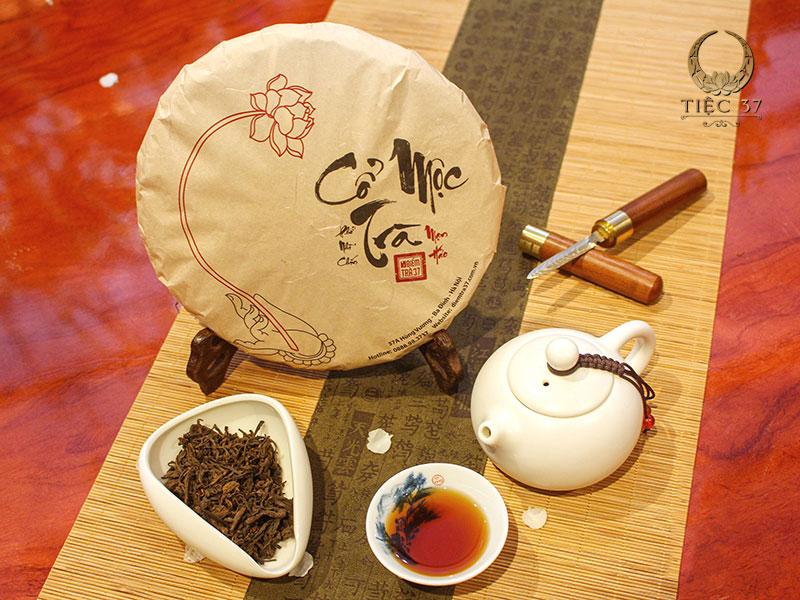Cổ Mộc Trà - dòng trà bánh lên men thượng hạng nổi bật với công dụng hỗ trợ tiêu hóa