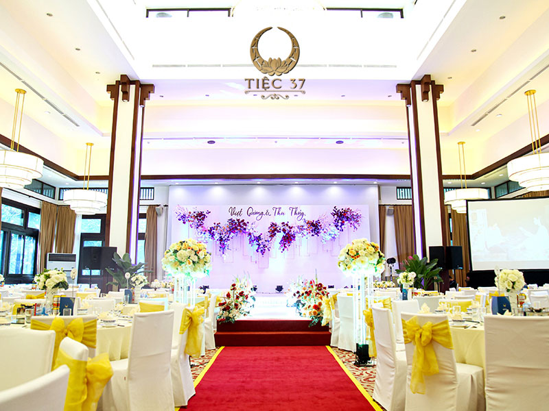 Tiệc cưới đẳng cấp tại Nhà hàng NCC - Trung tâm hội nghị Quốc gia