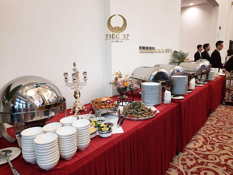 Bí quyết tổ chức tiệc buffet cuối năm cho công ty thành công