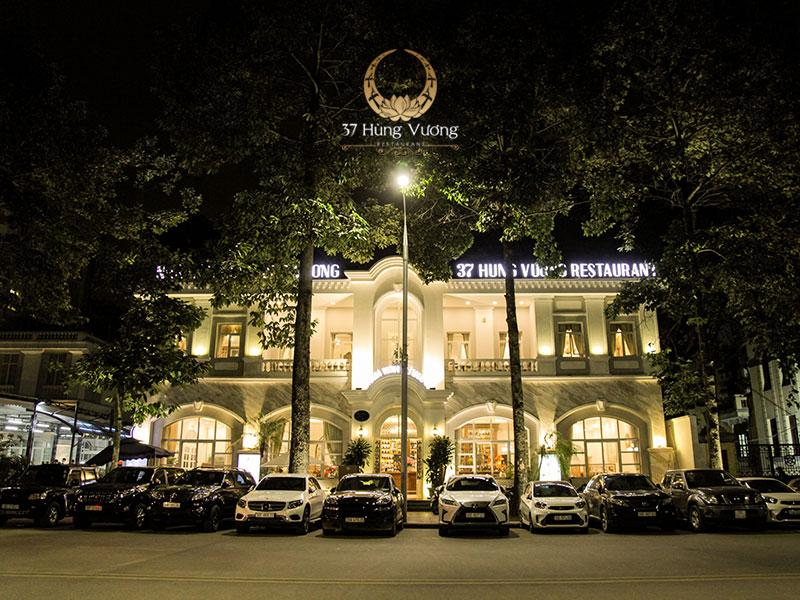 Nhà hàng 37A Hùng Vương - Địa điểm tổ chức tiệc tất niên sang trọng