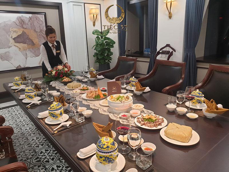 Dịch vụ đặt tiệc tại nhà chuyên nghiệp với chi phí hợp lý
