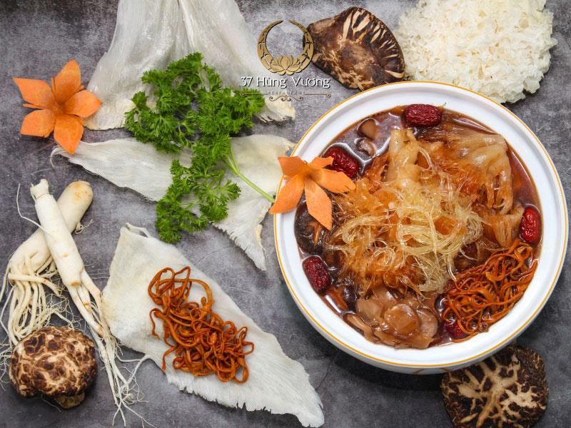 Soup Vi Cá 37 Hầm Đông Trùng