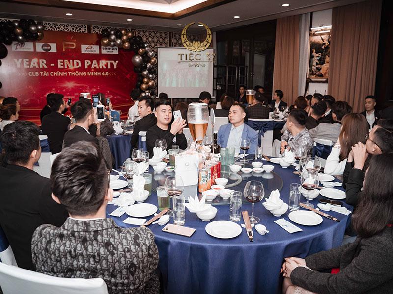Tiệc 37 – đơn vị tổ chức lễ tổng kết cuối năm cho công ty chuyên nghiệp