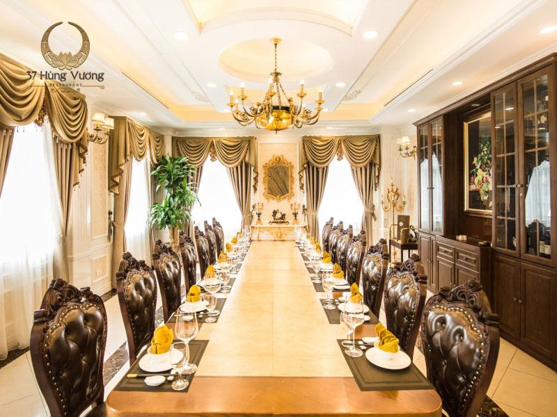 Nhà hàng 37A Hùng Vương – Địa điểm phù hợp tổ chức tiệc họp lớp