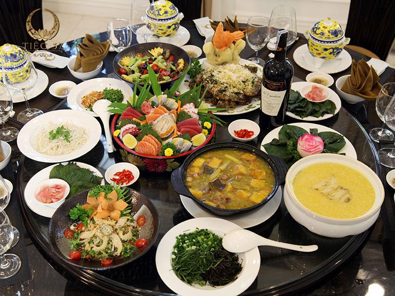 Dịch vụ đặt tiệc trọn gói uy tín và chuyên nghiệp tại Hà Nội
