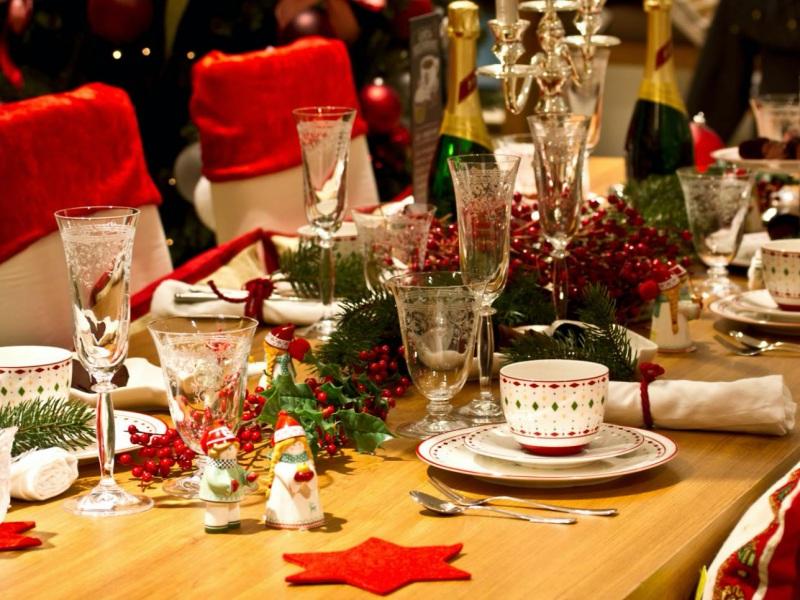Tiệc cưới lộng lẫy mùa Giáng sinh