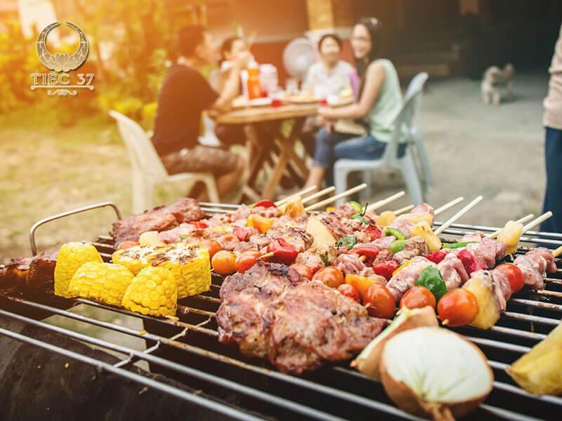 Tổ chức tiệc BBQ ngoài trời tại nhà hàng NCC – Trung tâm hội nghị Quốc gia
