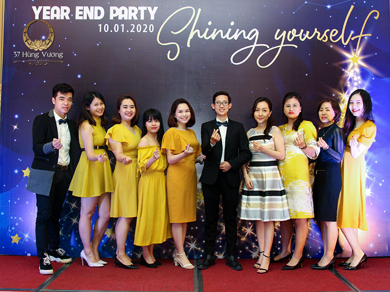 Cập nhật xu hướng Year End Party cuối 2020