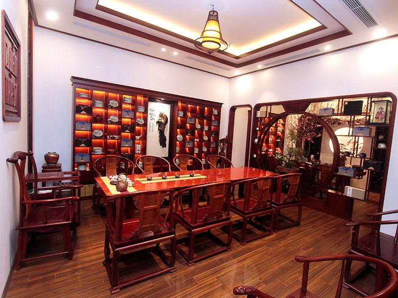 Không gian văn hóa trà Việt - Điểm trà 37 tại số 10 Chu Văn An, Điện Biên, Ba Đình, Hà Nội