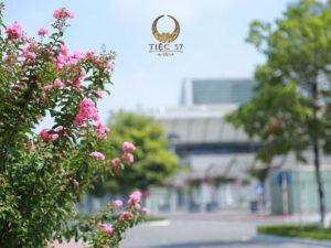 Nhà hàng NCC - Không gian tràn ngập sắc hoa cho bữa tiệc khai xuân ngoài trời