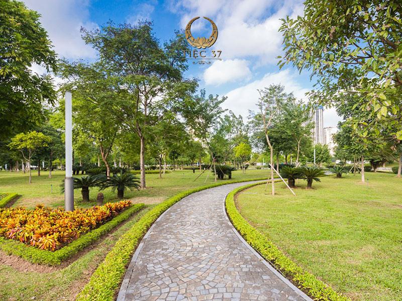 Không gian xanh giữa thủ đô Hà Nội