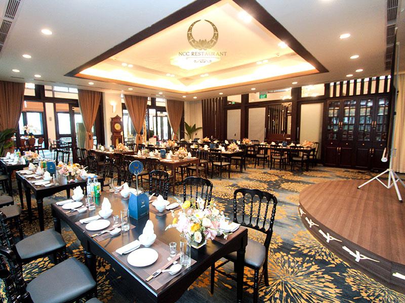 Nhà hàng tổ chức tiệc 30/4 - 1/5 với hệ thống phòng VIP sang trọng