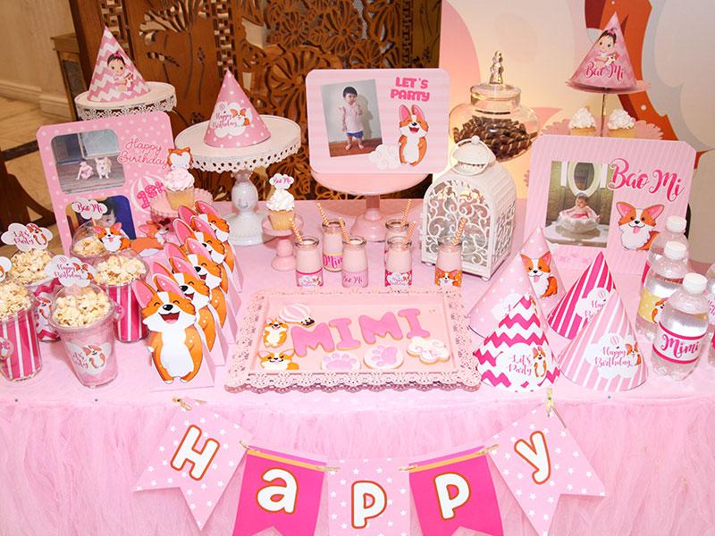Trang trí không gian tiệc sinh nhật tại nhà phù hợp với từng đối tượng