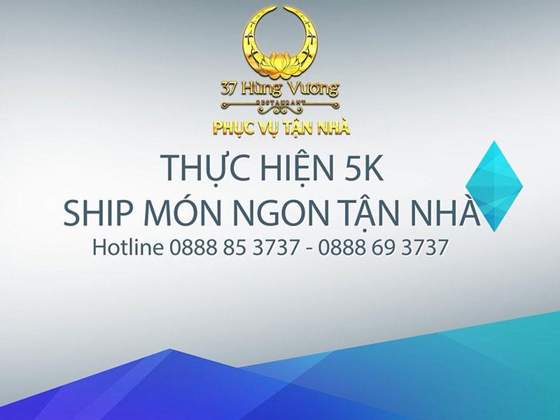 Dịch vụ ship món ngon tận nhà nhanh chóng và chuyên nghiệp 37 Hùng Vương