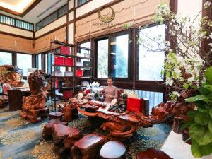 Nhà hàng tại Hà Nội nổi bật với không gian nội thất độc đáo