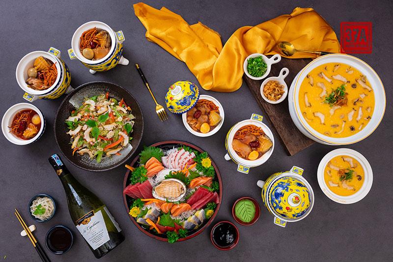 Set bào ngư Hàn Quốc – Set món ngon ship tận nhà chuẩn vị nhà hàng