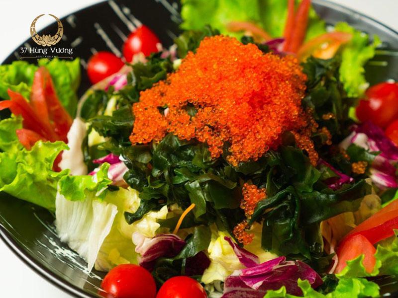 Salad rong biển trứng cua