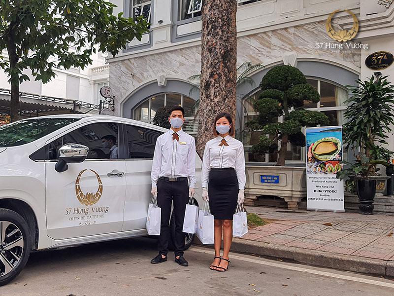 Nhà hàng 37 Hùng Vương cung cấp dịch vụ ship món ngon tận nhà chuyên nghiệp