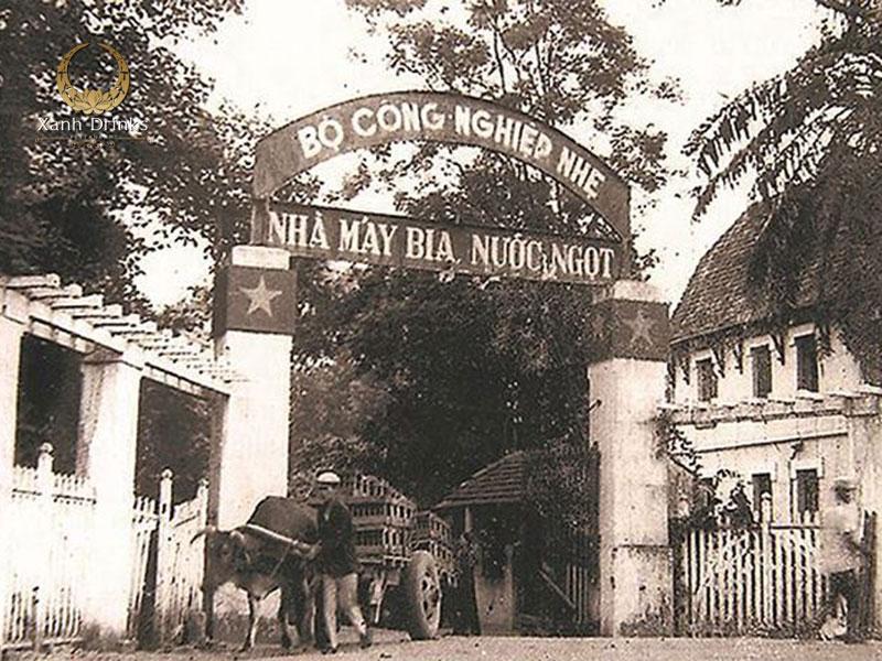 Nhà máy bia Hà Nội được khôi phục vào năm 1958