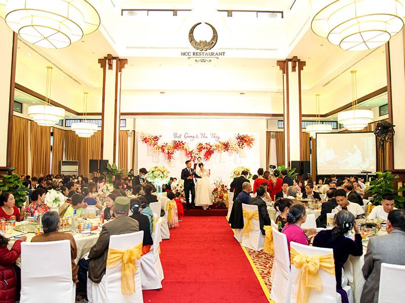Đâu là địa điểm tổ chức tiệc cưới sang trọng tại Hà Nội?